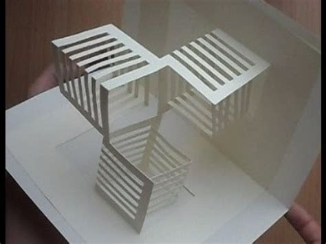 pop up cube card template techniques 17 best images about kirigami on pop up
