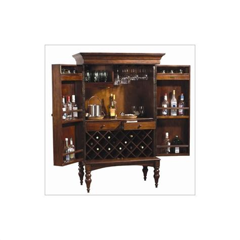 Hide Top Bar by Howard Miller Shiraz Hide A Home Bar In Wood