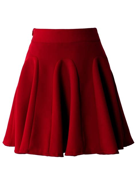 Ebay Home Interior Pictures by Red High Waist Skater Skirt Retro Indie And Unique Fashion