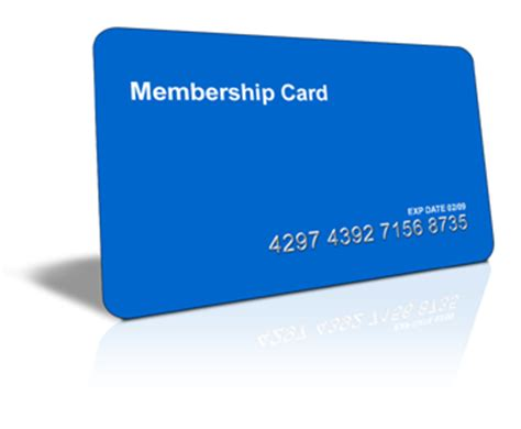 Blank Membership Card Template by Membership Card Printing Do Membership Cards Work