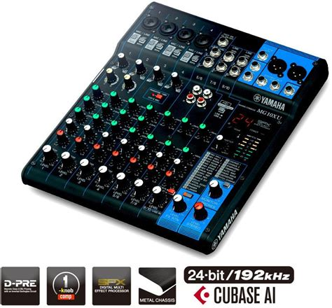 Mixer Tum yamaha mg10 xu analog mixer emusic se