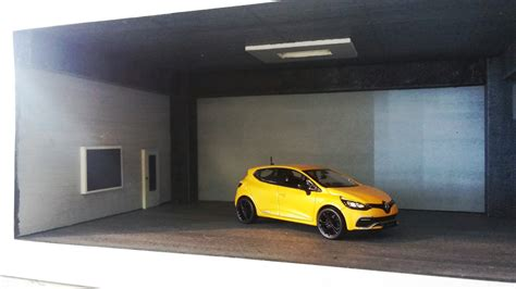 1 64 Scale Garage Diorama by Diorama Garage And Workshop Black For 1 43 And 1 64
