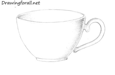 a cup how to draw a cup drawingforall net