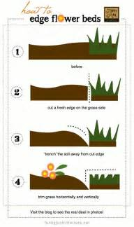 how to edge your grass and flower beds mi casa