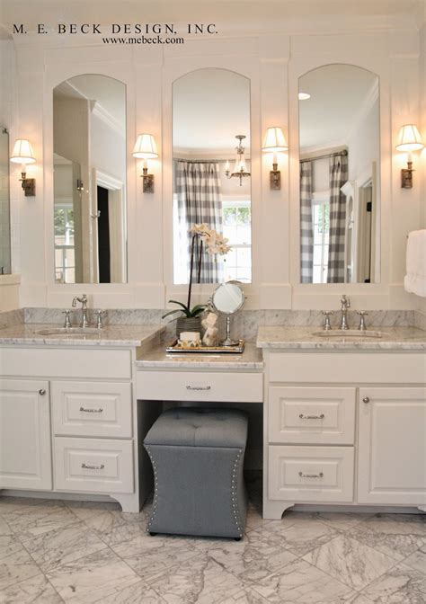 The Vanity Center by Live Beautifully Center Colonial Master Bath