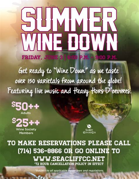 wine flyer template 38 best images about wine dinner event on