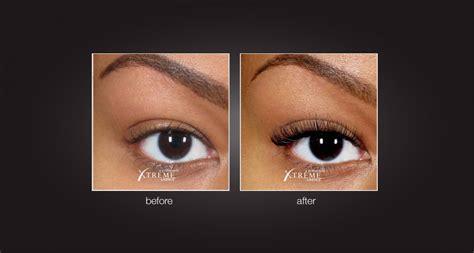 Eyelashes Real Hair 1 extension de cils xtreme lashes vesna nail bar