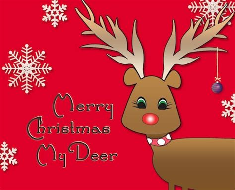 merry christmas deer   family ecards greeting cards