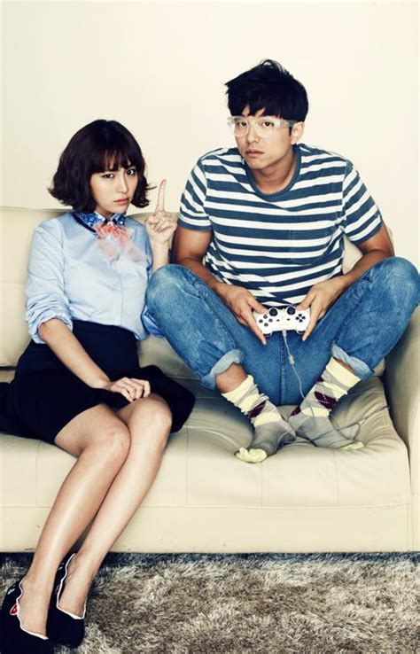 big korean actors lee min jung and gong yoo from the drama big korean