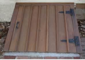 exterior basement door projects