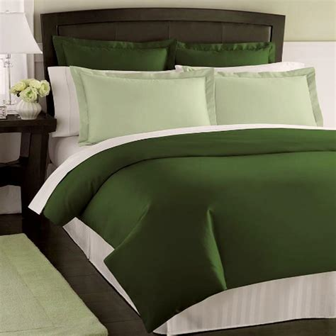 dark green bedding solid dark green comforter pictures to pin on pinterest