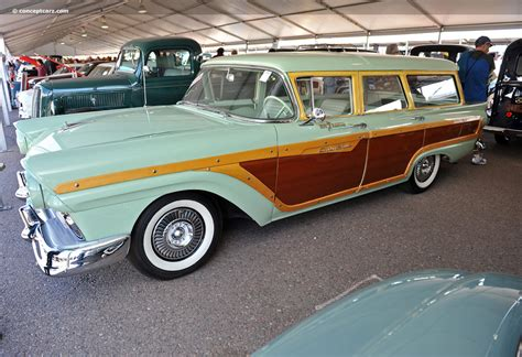 ford sales auction results and sales data for 1957 ford station wagon