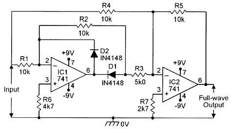 rectifier circuit using op op cookbook part 4 nuts volts magazine for the electronics hobbyist