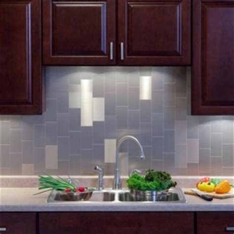 Stainless Steel Tile Backsplash Home Depot by Types Of Ceilings Architecture