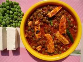 Recipe For Main Dish - mattar paneer wikipedia