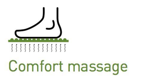comfort massage piatto doccia con massaggio plantare pluston