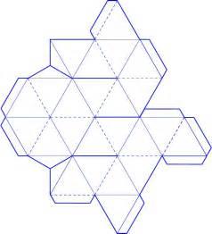Tetrahedron Template by 3d Tetrahedron Template Merkaba
