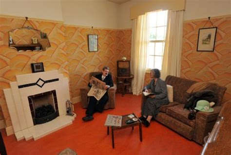 1930s living room 1930s domestic rooms black country living museum