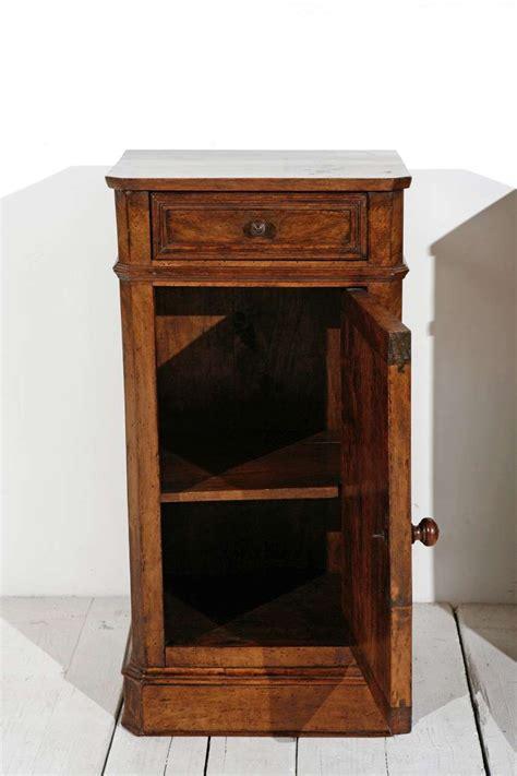 Antique Nightstands Pair Of Antique Walnut Nightstands At 1stdibs