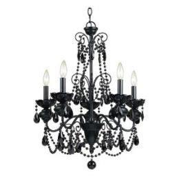 black bedroom chandelier teen bedroom decor black chandelier decorating a kids