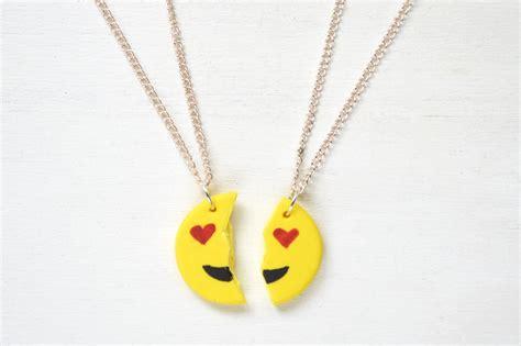 emoji necklace show your bff some love with diy emoji necklaces brit co