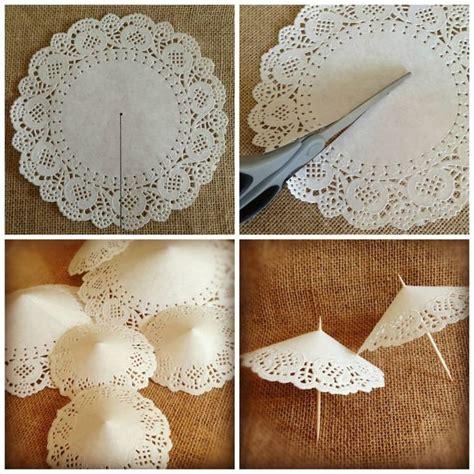 Paper Doilies Crafts - 24 best id 233 e d 233 co avec des napperons en papier dentelle