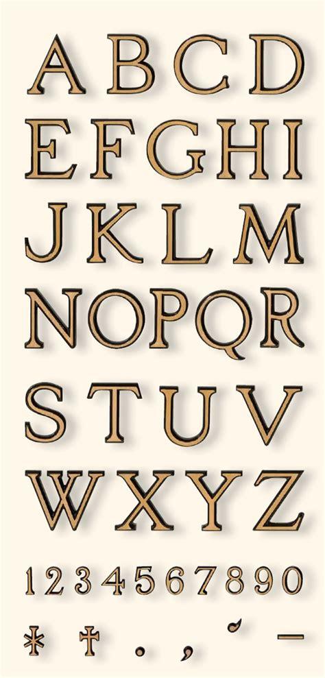 caratteri lettere lettere e numeri lydian caratteri per lapidi lettere per