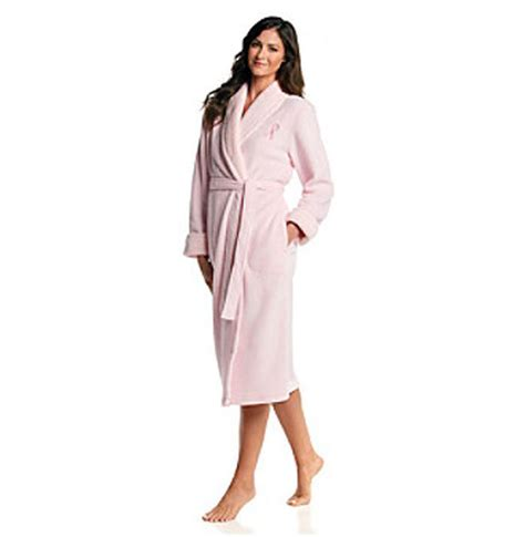 Think Pink Robes To Recovery by Pink Microfleece Breast Cancer Awareness Robe