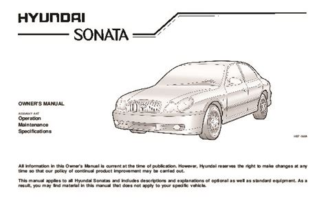 free service manuals online 2004 hyundai sonata parking system service manual 2004 hyundai sonata repair manual pdf service manual 2001 hyundai sonata