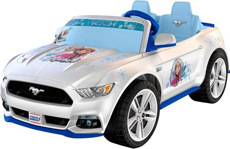 frozen mustang fisher price power wheels smart drive disney frozen ford