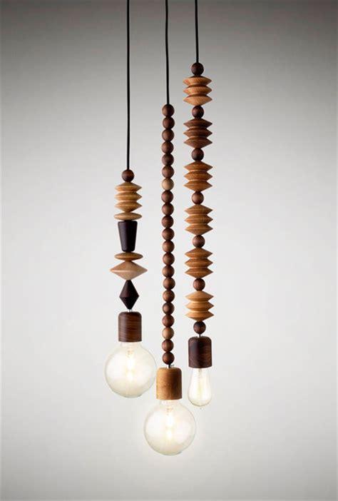 Beaded Pendant Light Bright 3 Cluster Modern Pendant Lighting Other Metro By Marz Design