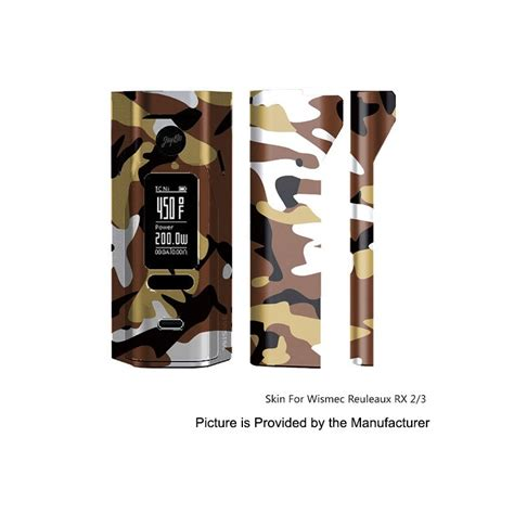 Promo Garskin Skin Wismec Rx 2 3 Rx2 3 Termurahhh Best Seller self adhesive skin sticker wrap pvc 02 cover for wismec reuleaux rx2 3