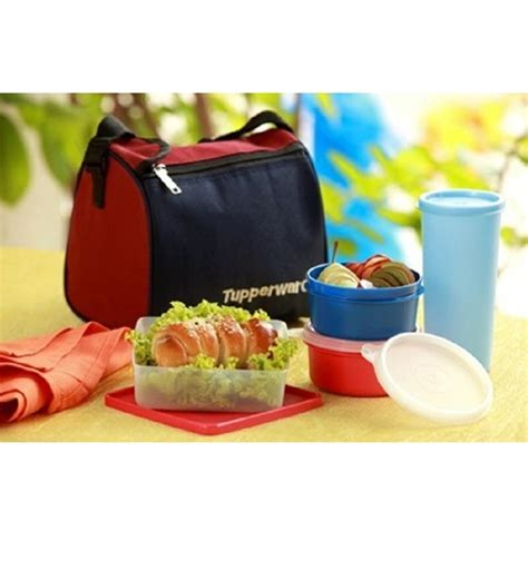 Tupperware Lunch Box tupperware best lunch box with insulated bag by tupperware