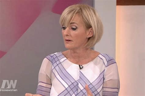 images of jane moores new hair cut loose women today cast controversy over emma freud kiss