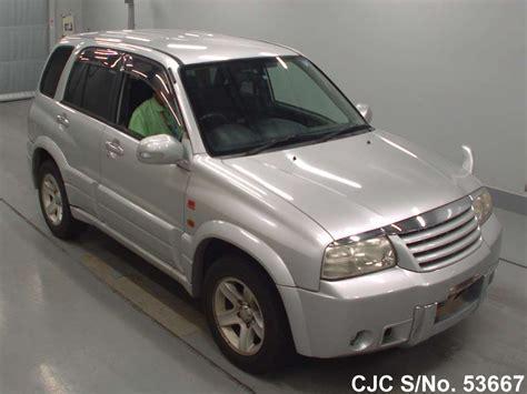 Suzuki Escudo 2003 2003 Suzuki Escudo Grand Vitara Silver For Sale Stock No