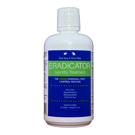 eradicator bed bug spray shop eradicator bed bug and dust mite 32 fl oz laundry
