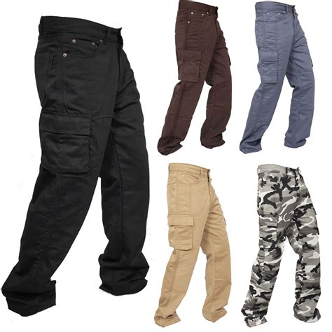 motorbike trousers motorcycle working cargo trousers with