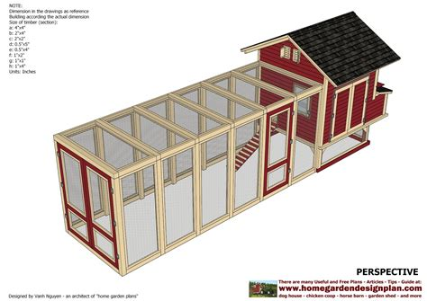 Chicken Coop Plans Download Free Chicken Coop Design Ideas Chicken House Blueprints Free