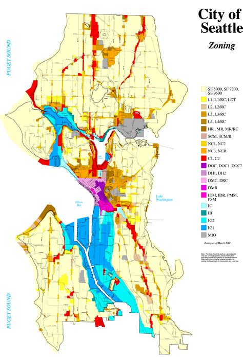 seattle parking zone map econscience ecohome seattle