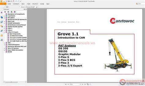 Auto Repair Manuals Manitowoc Grove Service Training Full
