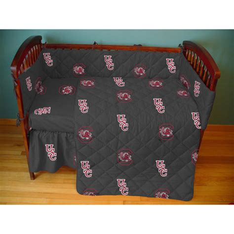 Crib In A Bag by South Carolina Gamecocks Crib Bed In A Bag Black