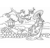 Coloring Page  Princess Of China