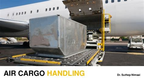 air cargo handling teaching material