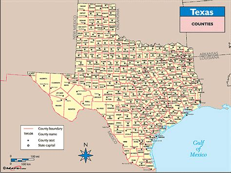 map of texas with counties texas counties and county seats map by maps from maps world s largest map store