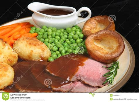 roast beef dinner stock photography image 13459642 - Gravy Boat Littlehton Lunch Menu