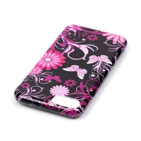 coque iphone 7 8 papillons et fleurs