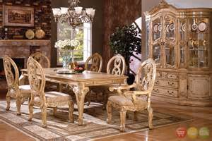 Traditional Dining Room Sets Tuscany Traditional Formal Dining Room Set Table 6 Chairs China Antique White Ebay