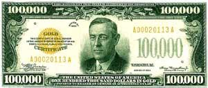 $100,000 Bill T Shirt $100000 Bill