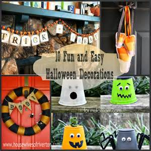Easy To Do Halloween Decorations 10 Fun And Easy Halloween Decorations