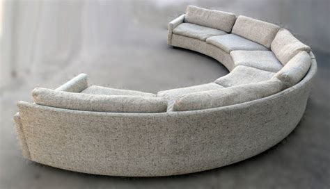 semi circular couch milo baughman semi circular party sofa at 1stdibs